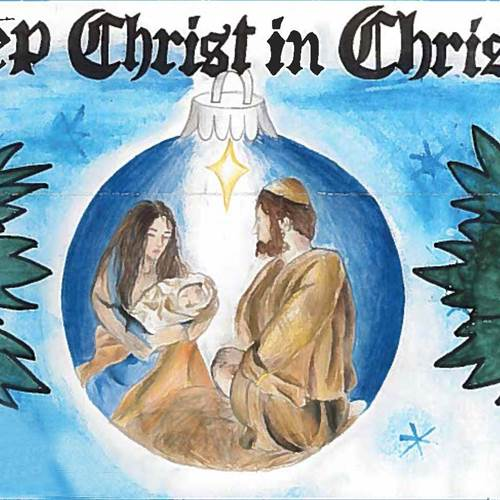 "Christmas poster contest invites kids to ""Keep Christ in Christmas"""